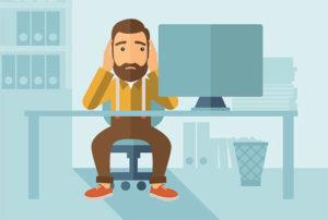 Frustrated website user