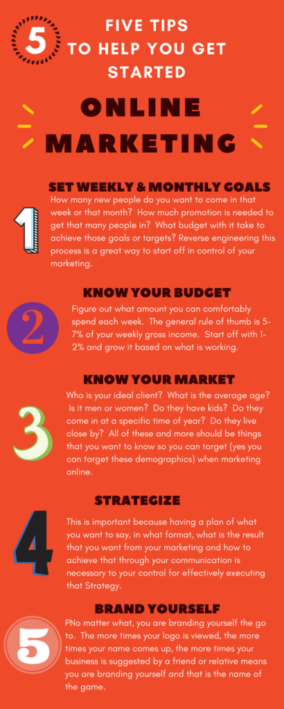 5 Online Marketing Strategy tips